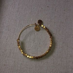 Alex and Ani star beaded bracelet
